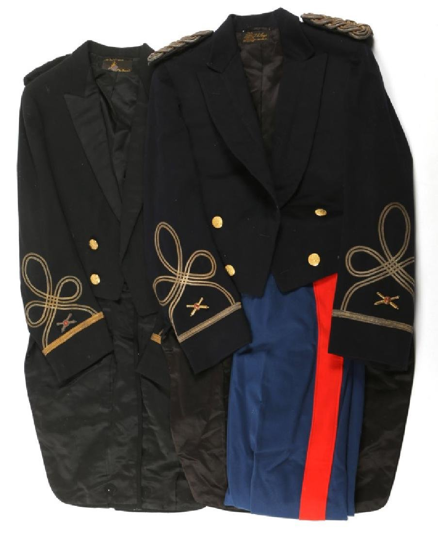 US COASTAL ARTILLERY FULL DRESS UNIFORM LOT of 2