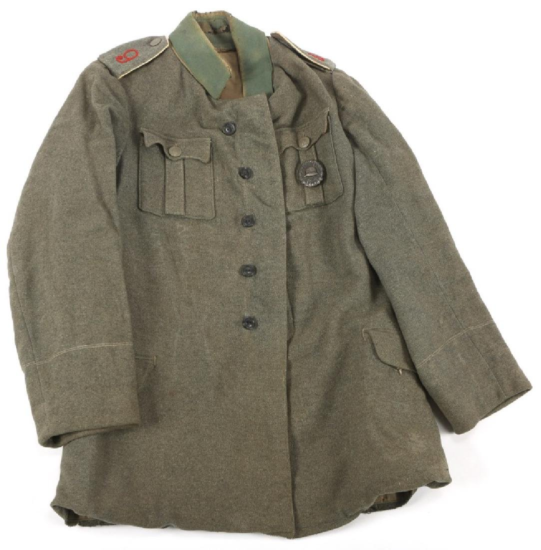 WWI GERMAN M1916 FELDGRAU UNIFORM TUNIC