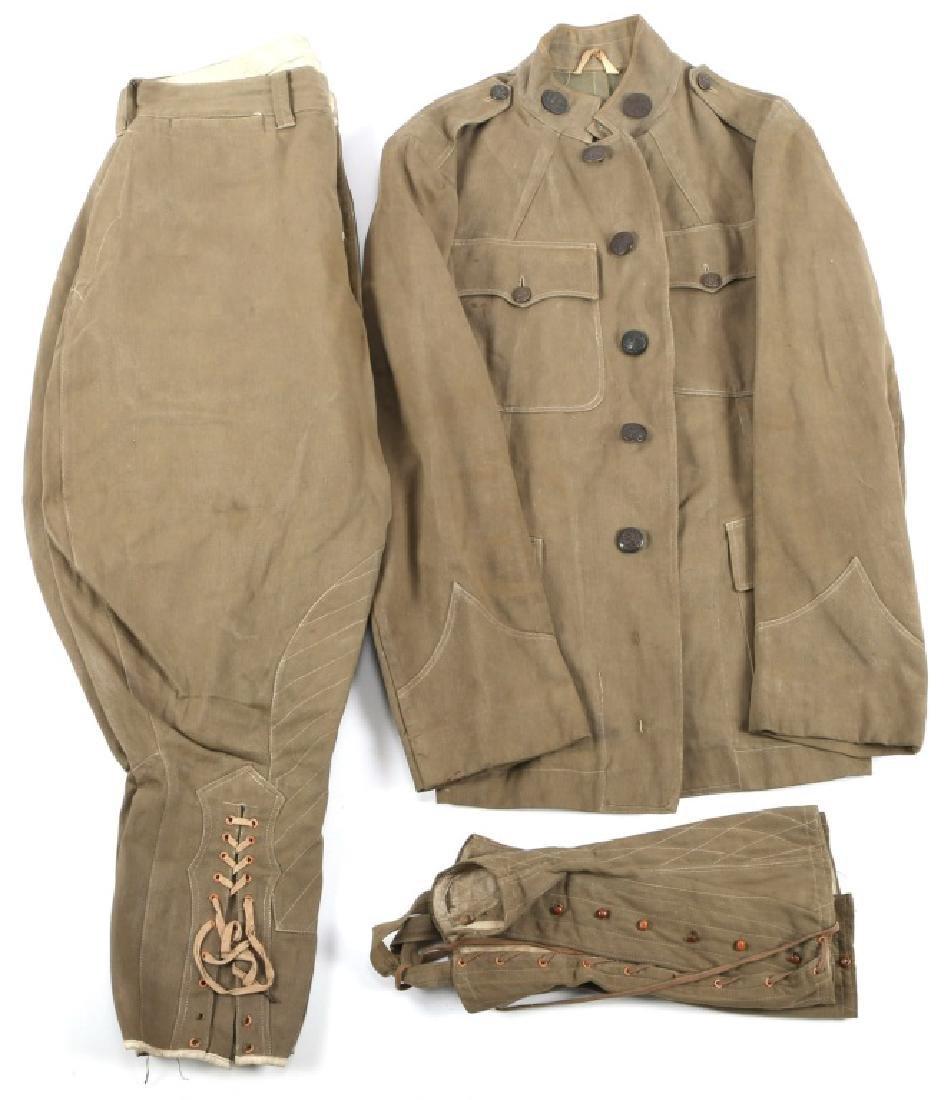 WWII CAVALRY KHAKI COTTON SUMMER UNIFORM AND PANTS