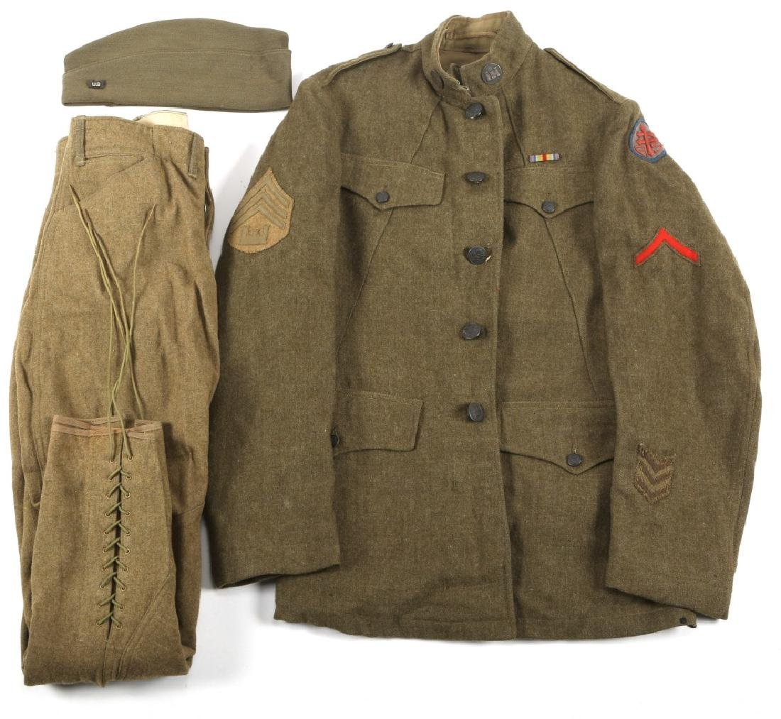 WWI US ADVANCE SECTION CORPS OF ENGINEER UNIFORM