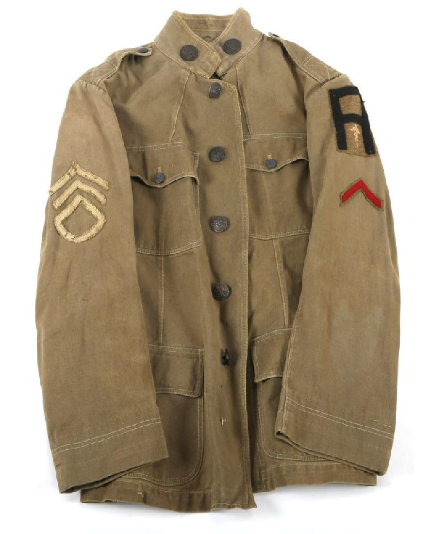 WWI US 1st  ARMY MEDICAL CORPS TUNIC UNIFORM