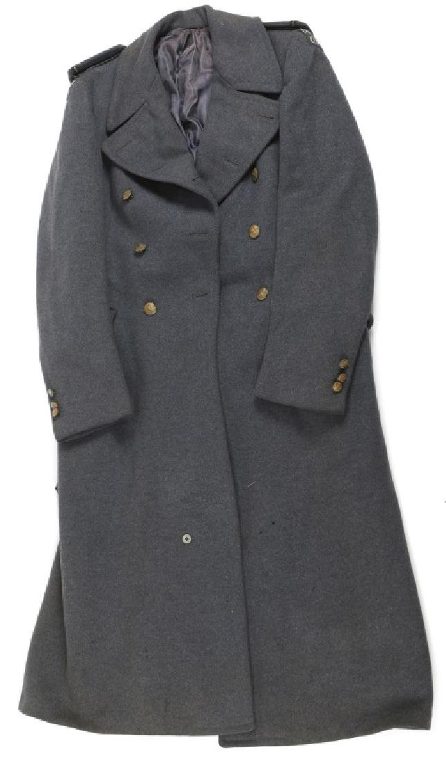 WWII CANADIAN RCAF WOOL OVERCOAT WITH TAB PATCH