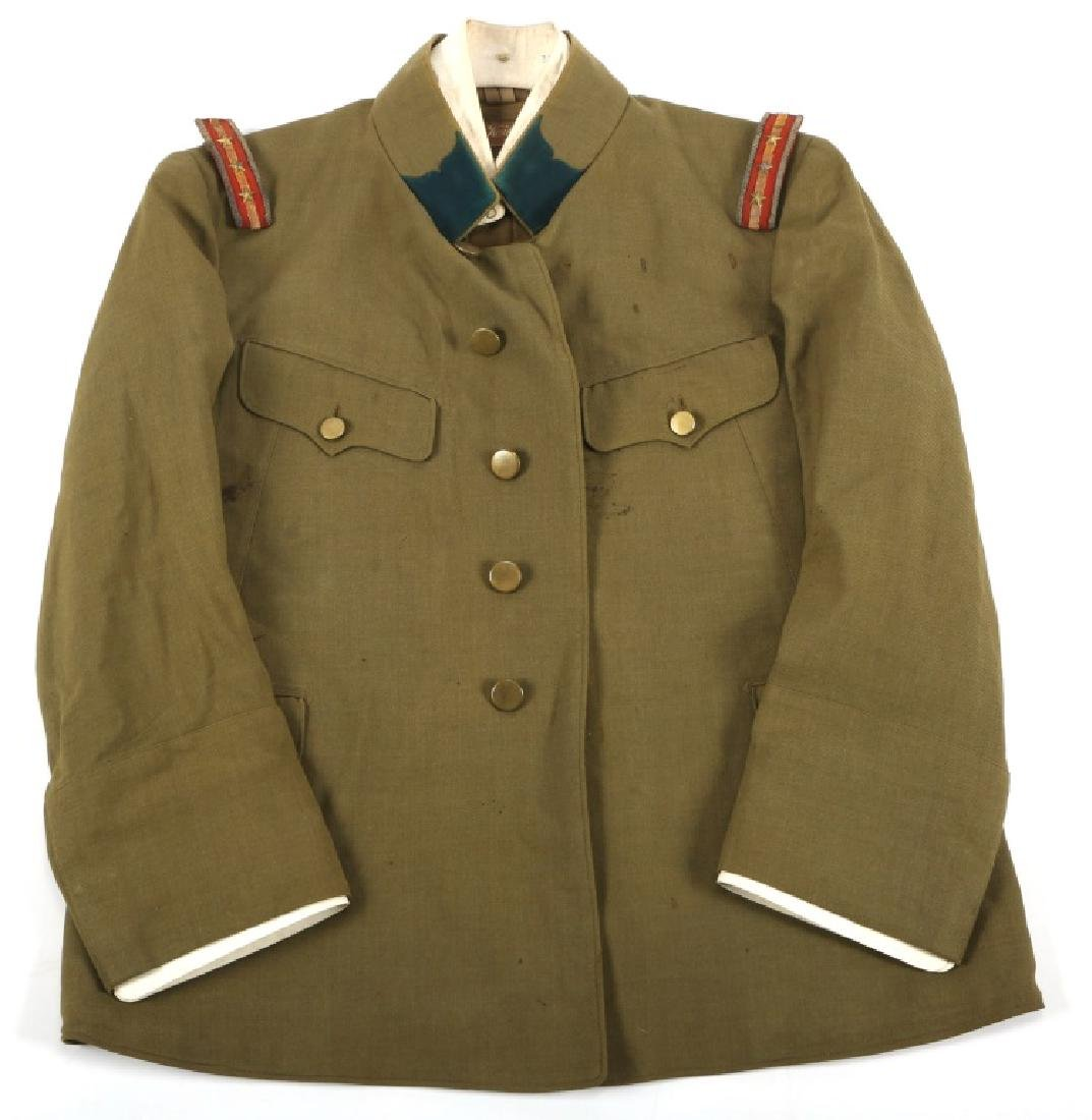 WWII JAPANESE MEDICAL OFFICER UNIFORM TUNIC