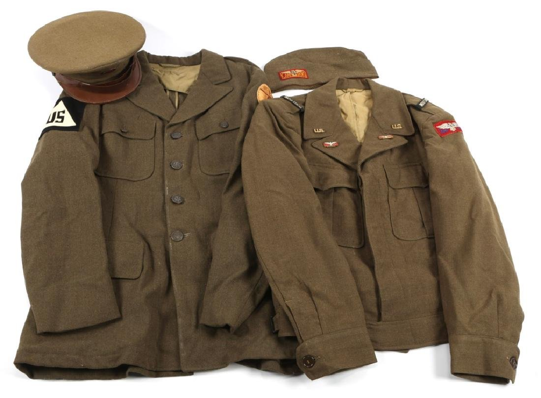 WWII USO CAMP SHOWS & ATC CIVIL SERVICE UNIFORM