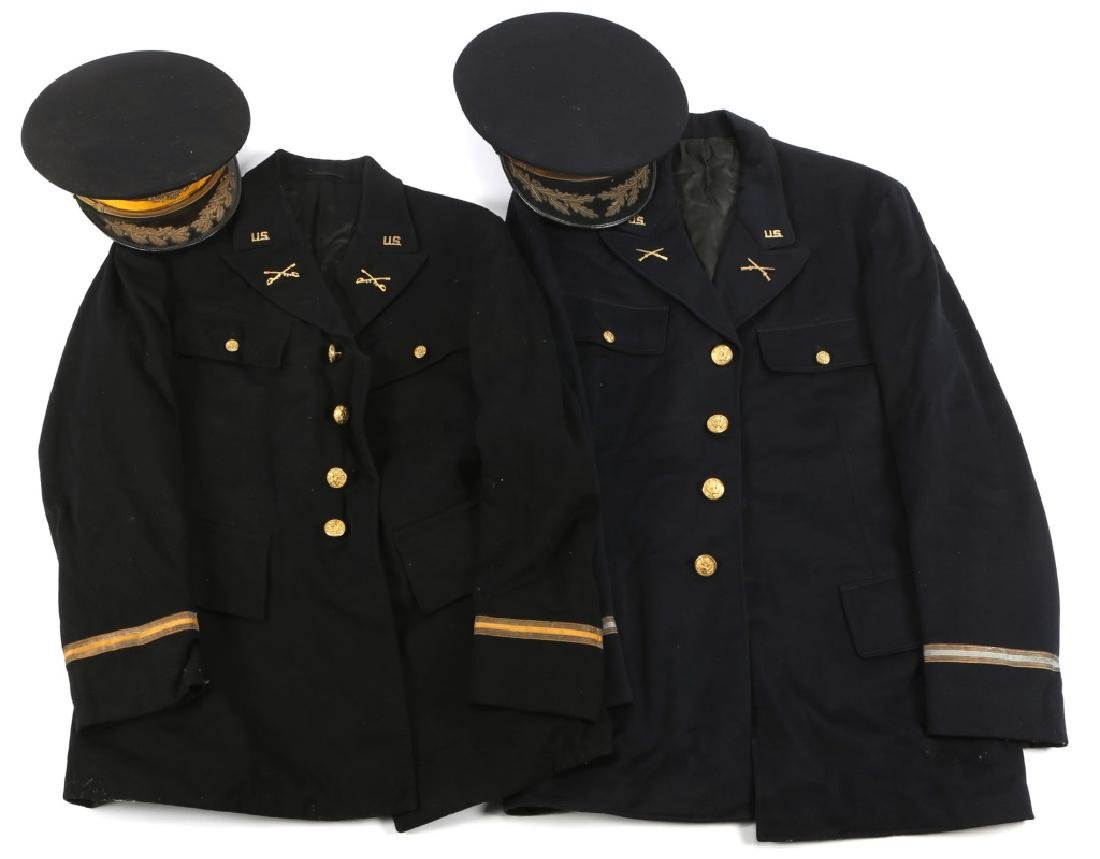 WWII US INFANTRY AND CAVALRY NAMED M38 UNIFORM LOT