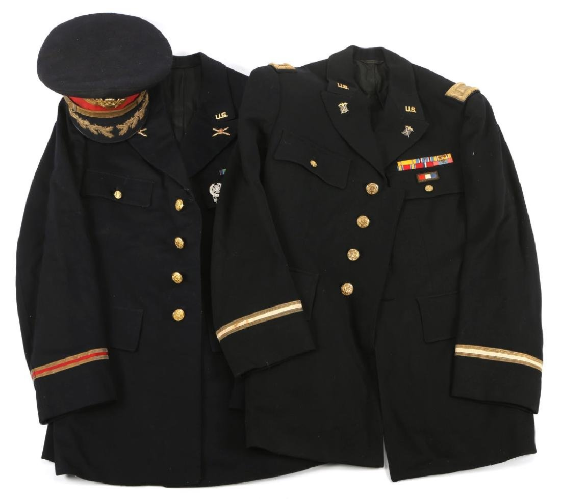 WWII US ARMY MODEL 1938 DRESS BLUE UNIFORM LOT