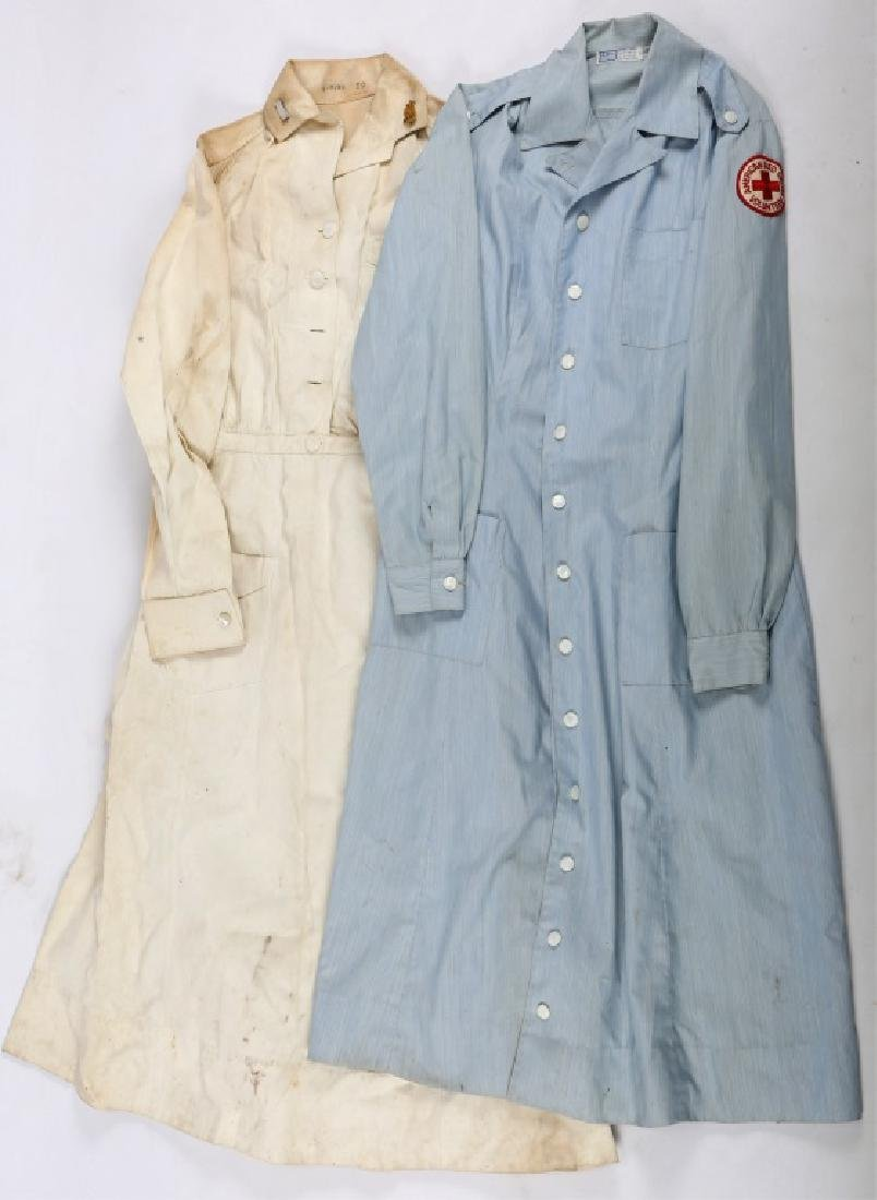 WWII US AMERICAN RED CROSS AND WAVES NURSE DRESS