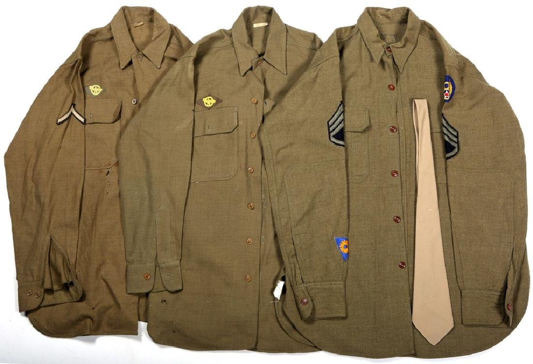 WWII 8TH ARMY AIR FORCE UNIFORM LOT OF 3