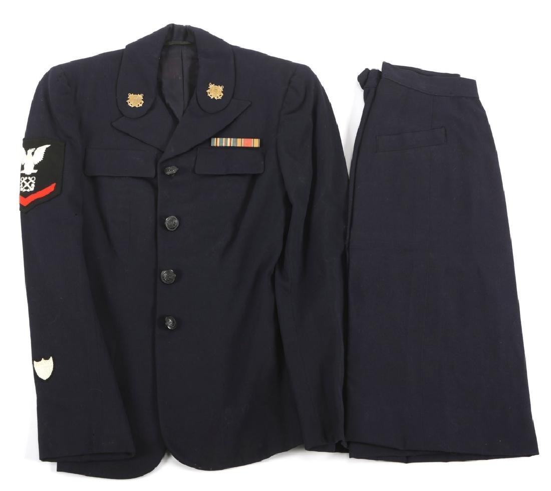 WWII US COAST GUARD FEMALE UNIFORM