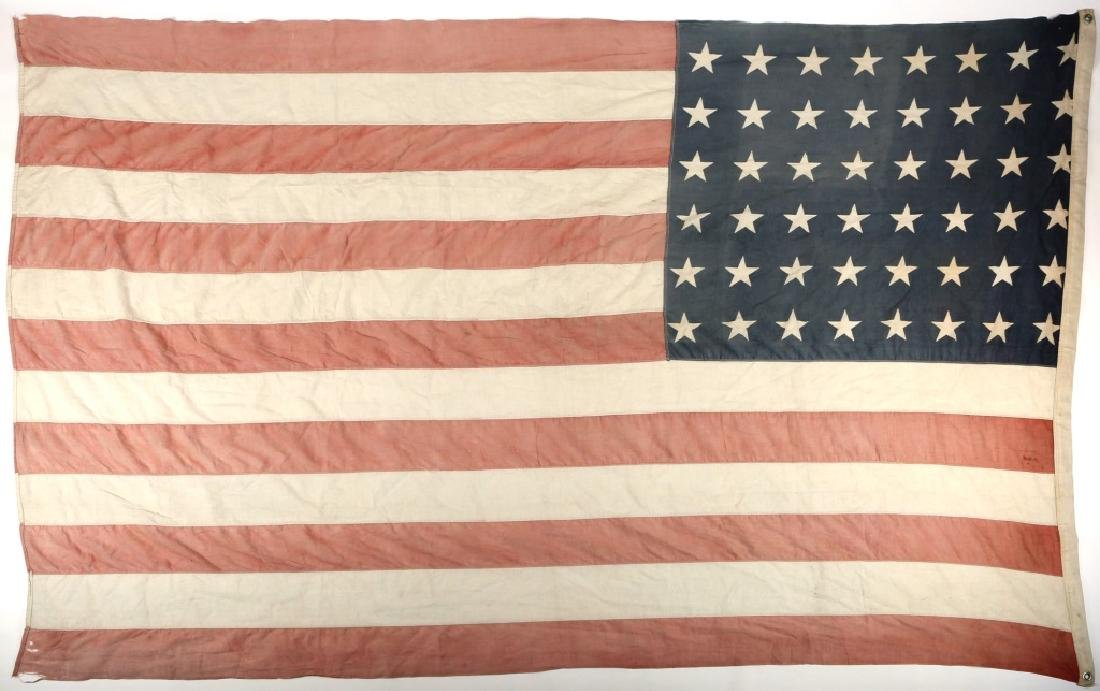 WWII D-DAY FLOWN FLAG LST 314 & LT. OAKES WWII ARCHIVE - 8