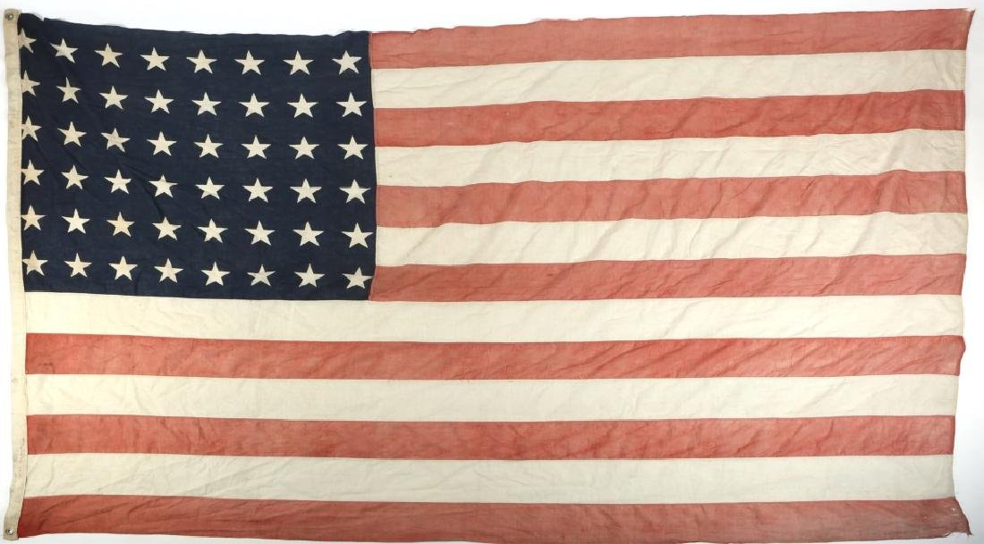 WWII D-DAY FLOWN FLAG LST 314 & LT. OAKES WWII ARCHIVE - 9