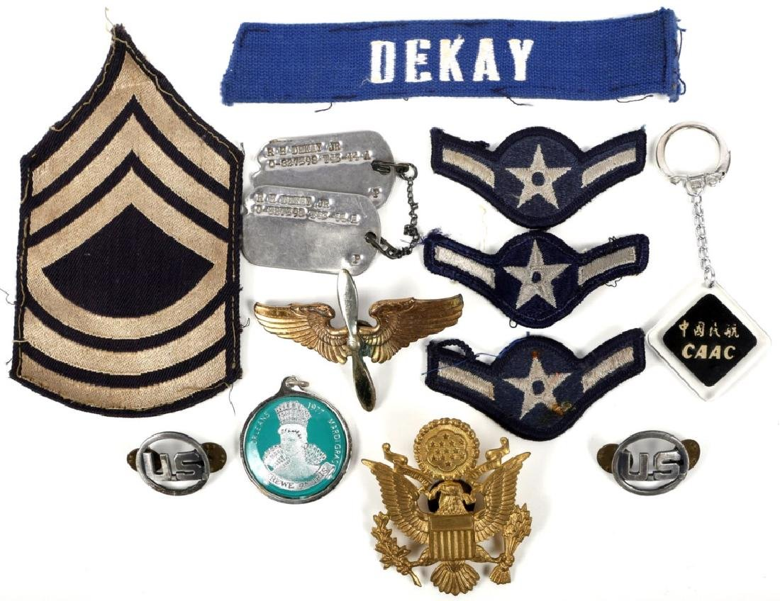 MILITARY ARCHIVE OF R.H. DEKAY JR