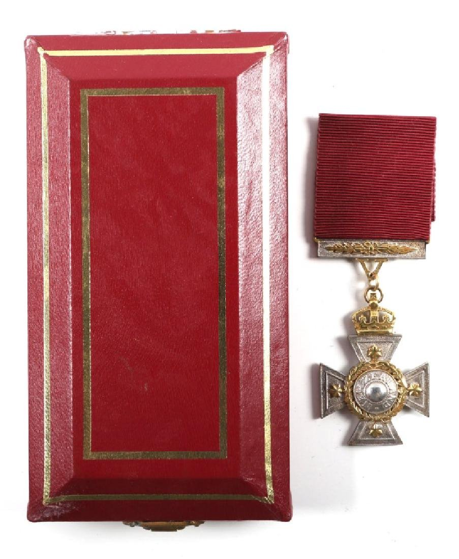 CASED 1869 NEW ZEALAND CROSS OFFICIAL REPLICA #10