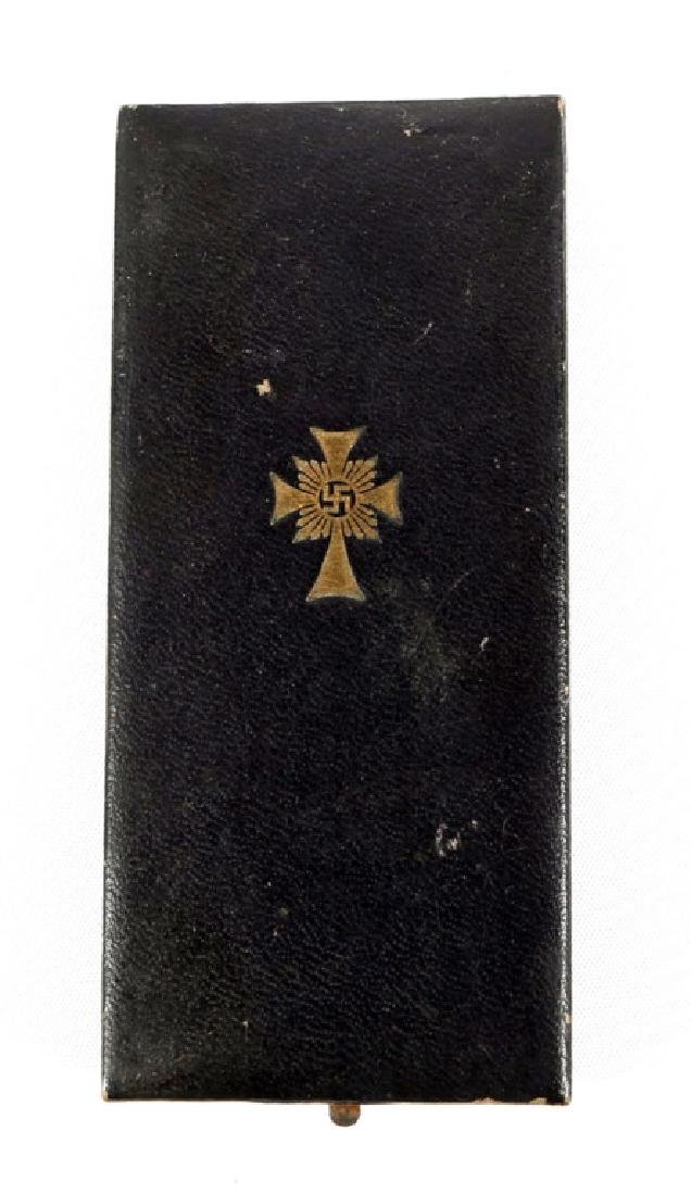 WWII GERMAN MOTHER CROSS MEDAL AND PARTY BADGE