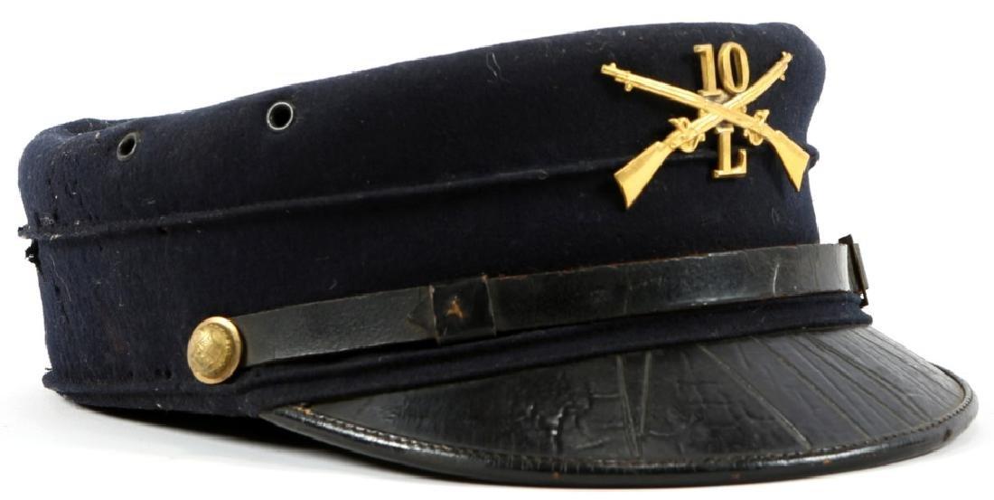 US NEW YORK MILITIA 1895 CAP