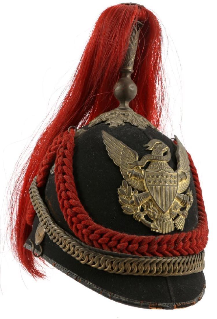 INDIAN WARS US M1881 ARTILLERY DRESS HELMET