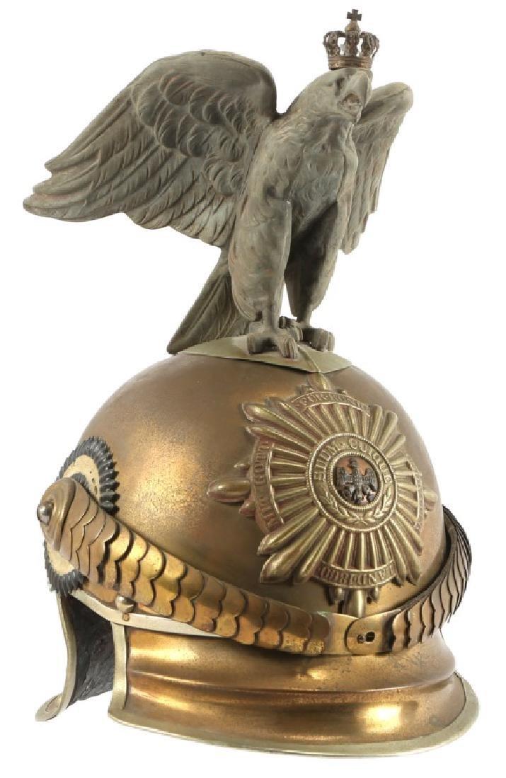 IMPERIAL GERMAN GARDES DU CORPS DRESS HELMET