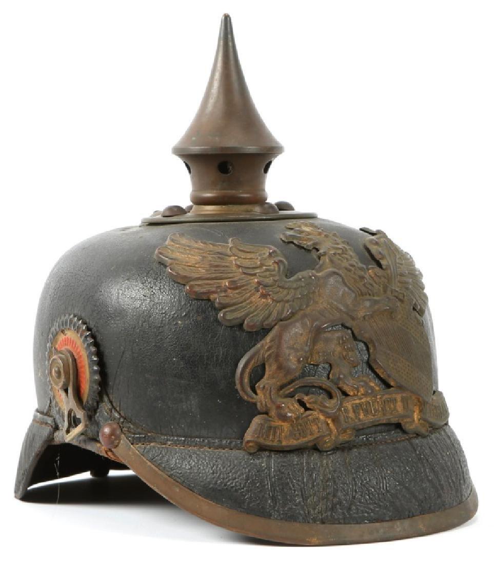 WWI IMPERIAL GERMAN BADEN PICKELHAUBE HELMET
