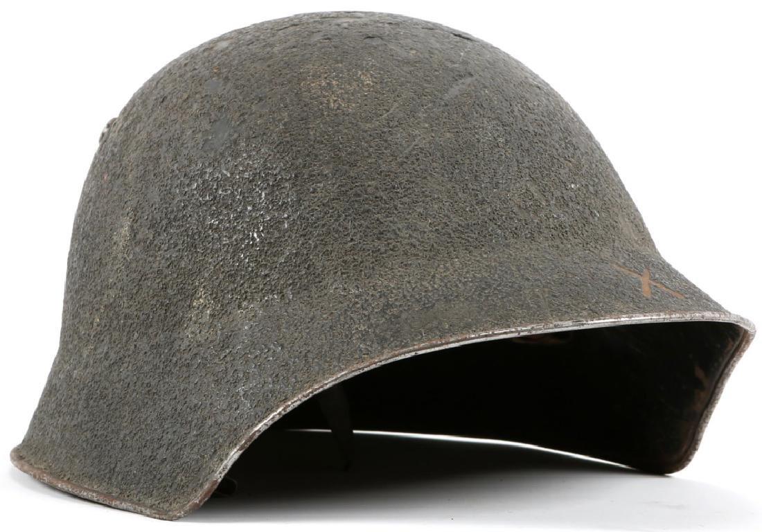 WWI SWISS M18 HELMET