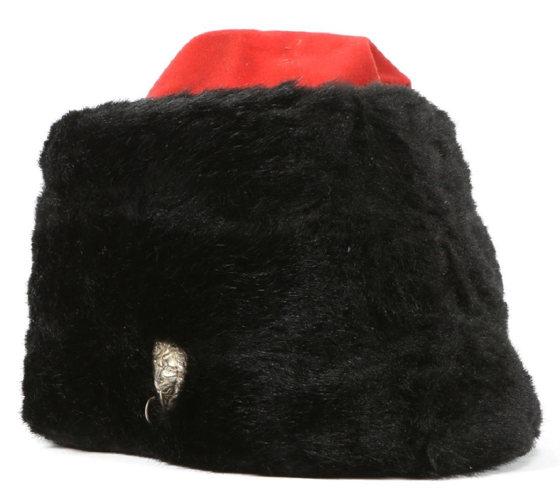 BRITISH ROYAL CAVALRY BUSBY FUR HAT