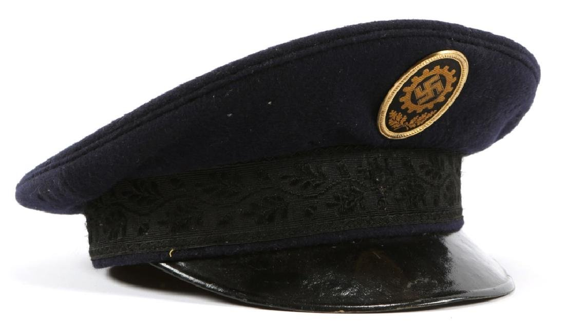 WWII GERMAN LABOR UNION NAMED DRESS HAT