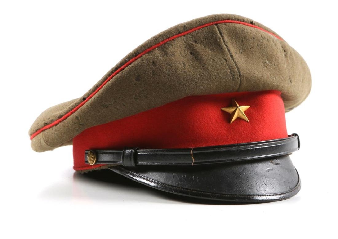 WWII IMPERIAL JAPANESE ARMY OFFICER VISOR