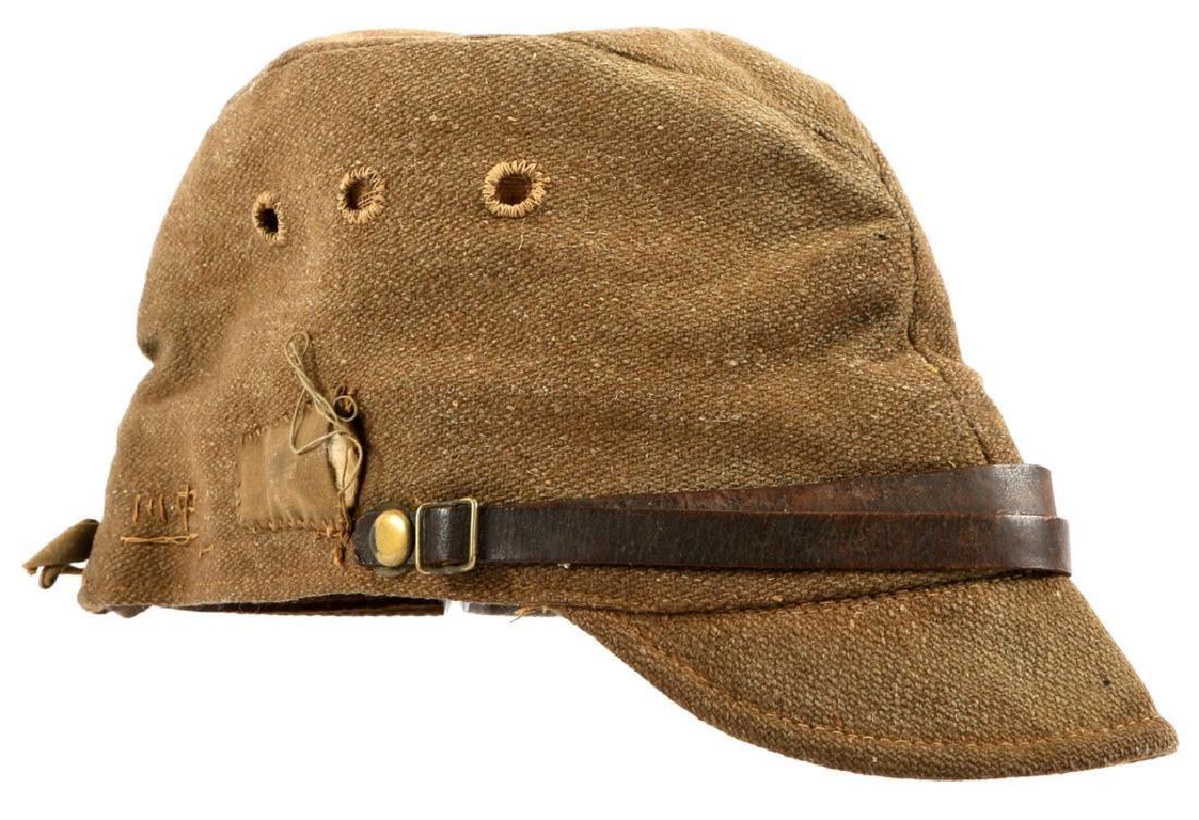 NAMED WWII JAPANESE EM FIELD CAP