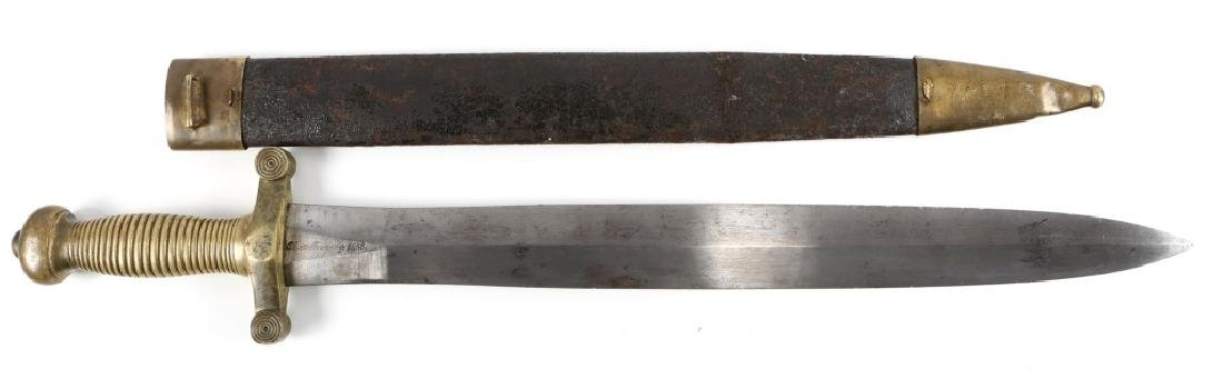 FRENCH FOOT ARTILLERY SIDEARM SWORD BY PIHET Fr