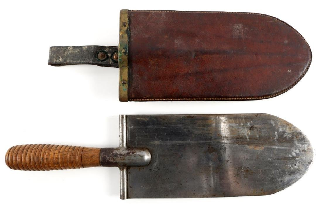 INDIAN WAR US CAVALRY 1873 ENTRENCHING TOOL KNIFE