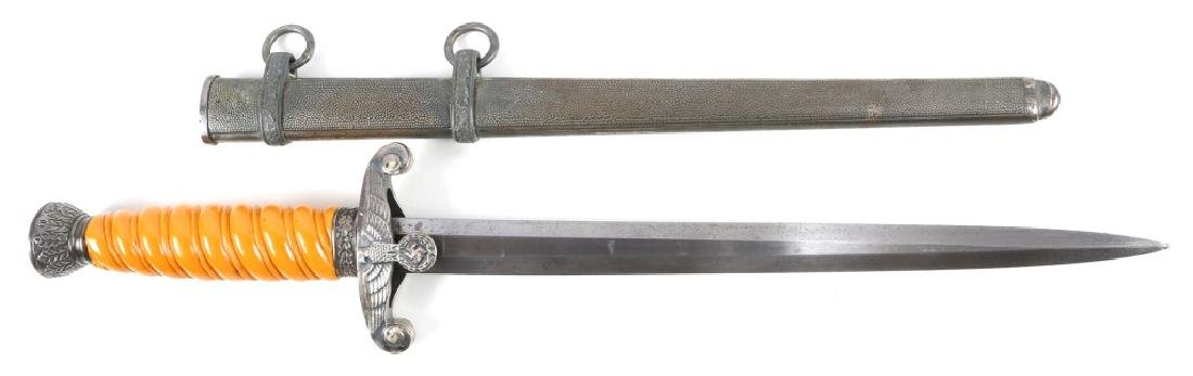 WWII GERMAN ARMY DAGGER BY HAST & UHTHOFF DRESDEN