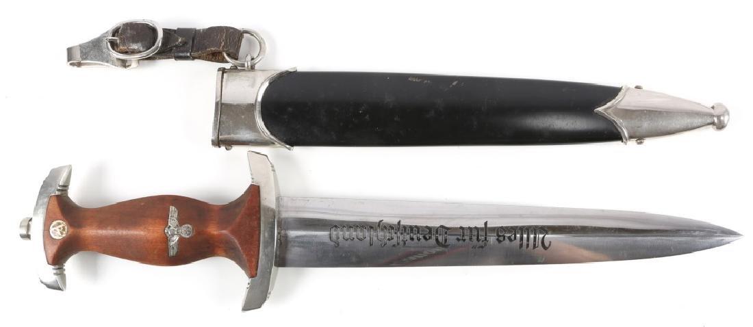 WWII GERMAN NSKK DAGGER BY MALSH & AMBRONN
