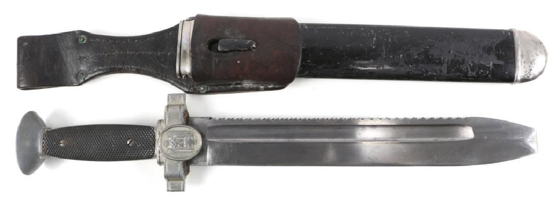 WWII GERMAN RED CROSS DAGGER