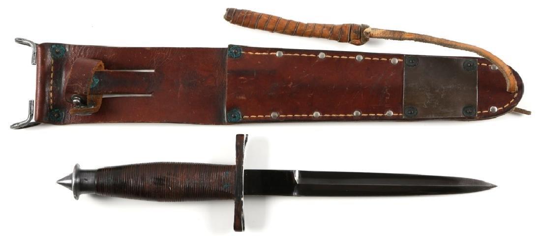 1943 US NAVY CASE V-42 STILETTO FIGHTING KNIFE