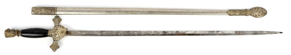 KNIGHTS OF COLUMBUS FRATERNAL SWORD
