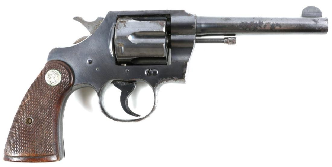 1944 COLT OFFICIAL POLICE .38 SPECIAL REVOLVER