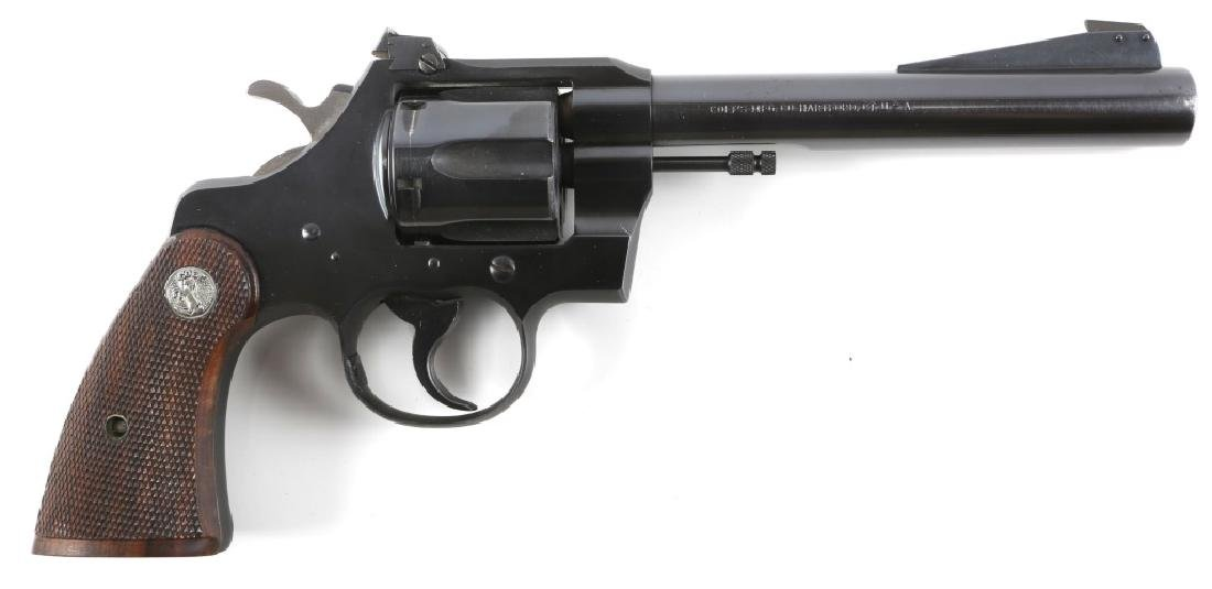 1951 COLT OFFICERS MODEL SPECIAL REVOLVER 22 CAL