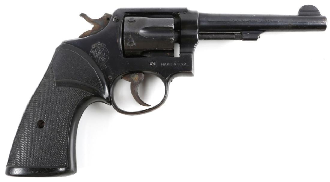 SMITH & WESSON MODEL 10 .38 SPECIAL REVOLVER