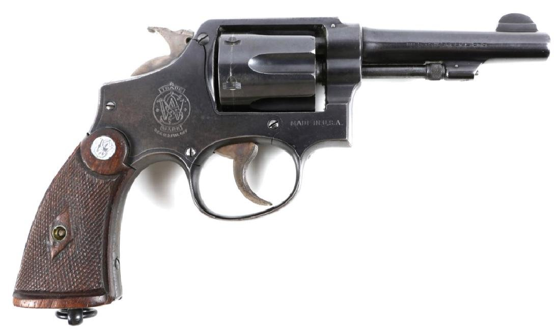 SMITH & WESSON VICTORY .38 SPECIAL REVOLVER