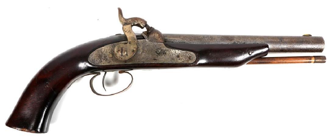 ANTIQUE US 1853 PERCUSSION PISTOL