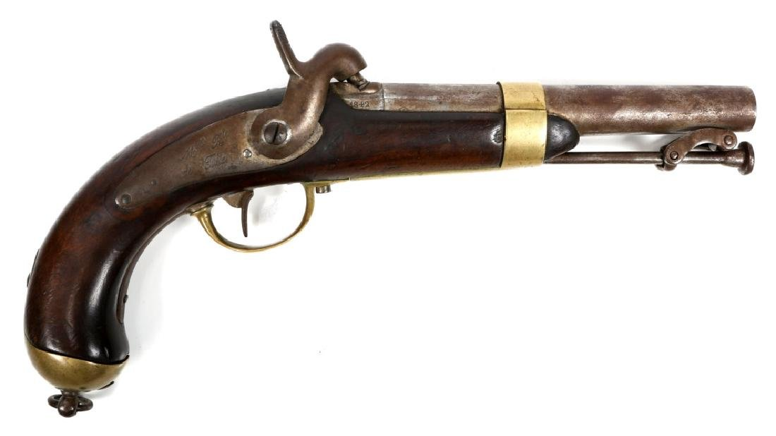 FRENCH MODEL 1837 NAVY PERCUSSION PISTOL