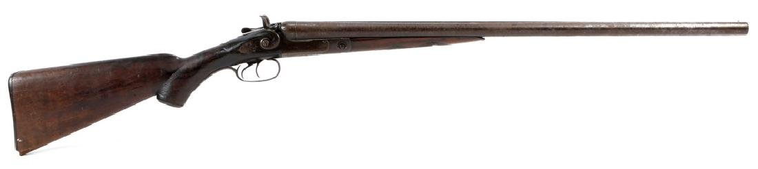 1891 PARKER BROS DOUBLE BARREL 12 GA SHOTGUN