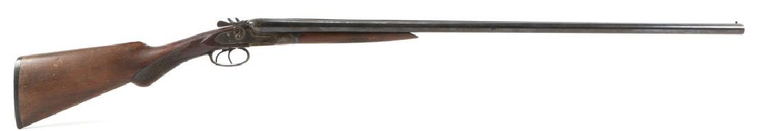 AMERICAN GUN Co DOUBLE BARREL PERCUSSION SHOTGUN