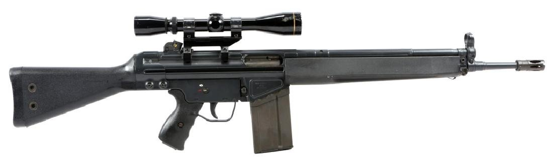 HK MODEL 91 .308 WIN RIFLE WITH SCOPE