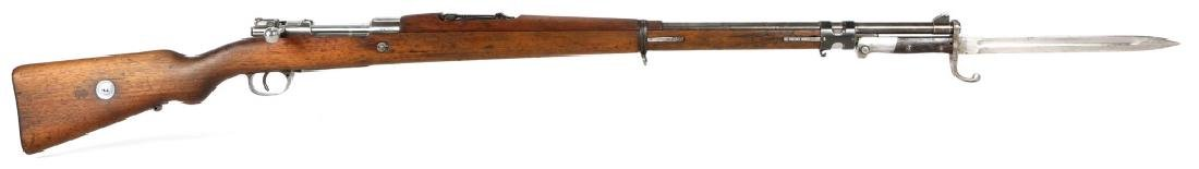 BRAZILIAN DWM MODEL 1908 RIFLE & BAYONET