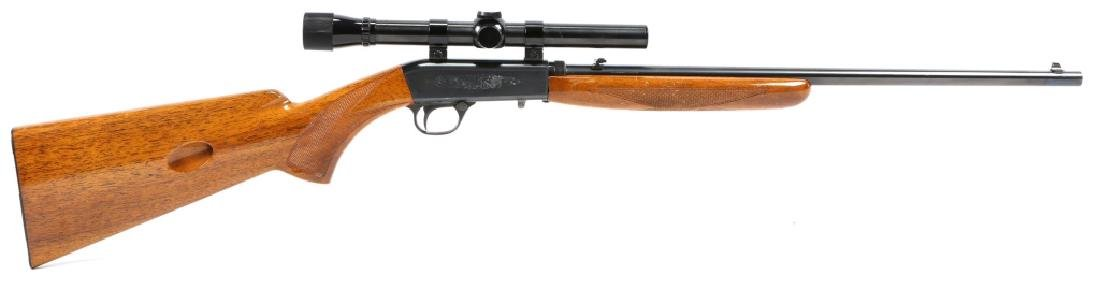 BROWNING .22 CAL RIFLE WITH SCOPE