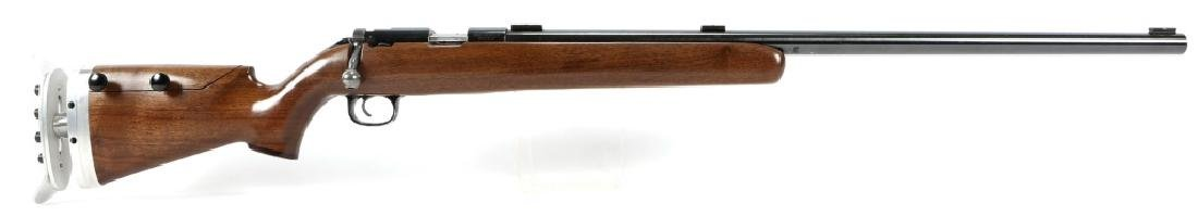 WINCHESTER MODEL 52 TARGET RIFLE 22 LR CAL