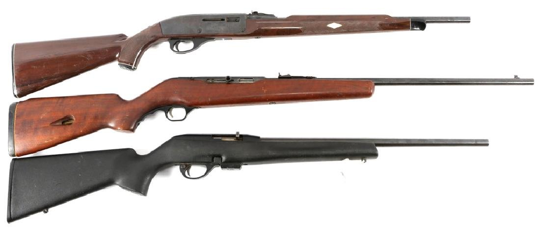 SMALL CALIBER RIFLE LOT OF 3