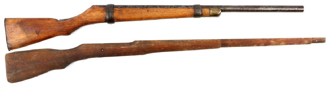 ROSS M1910 STOCK AND RIFLE PROP