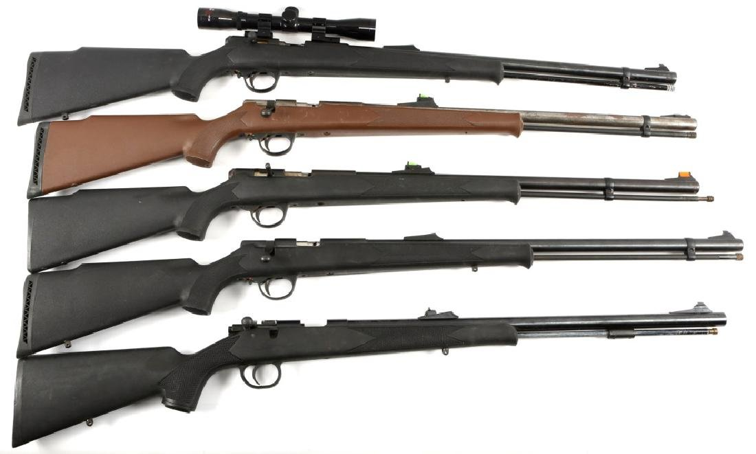 BLACK POWDER RIFLE LOT OF 5