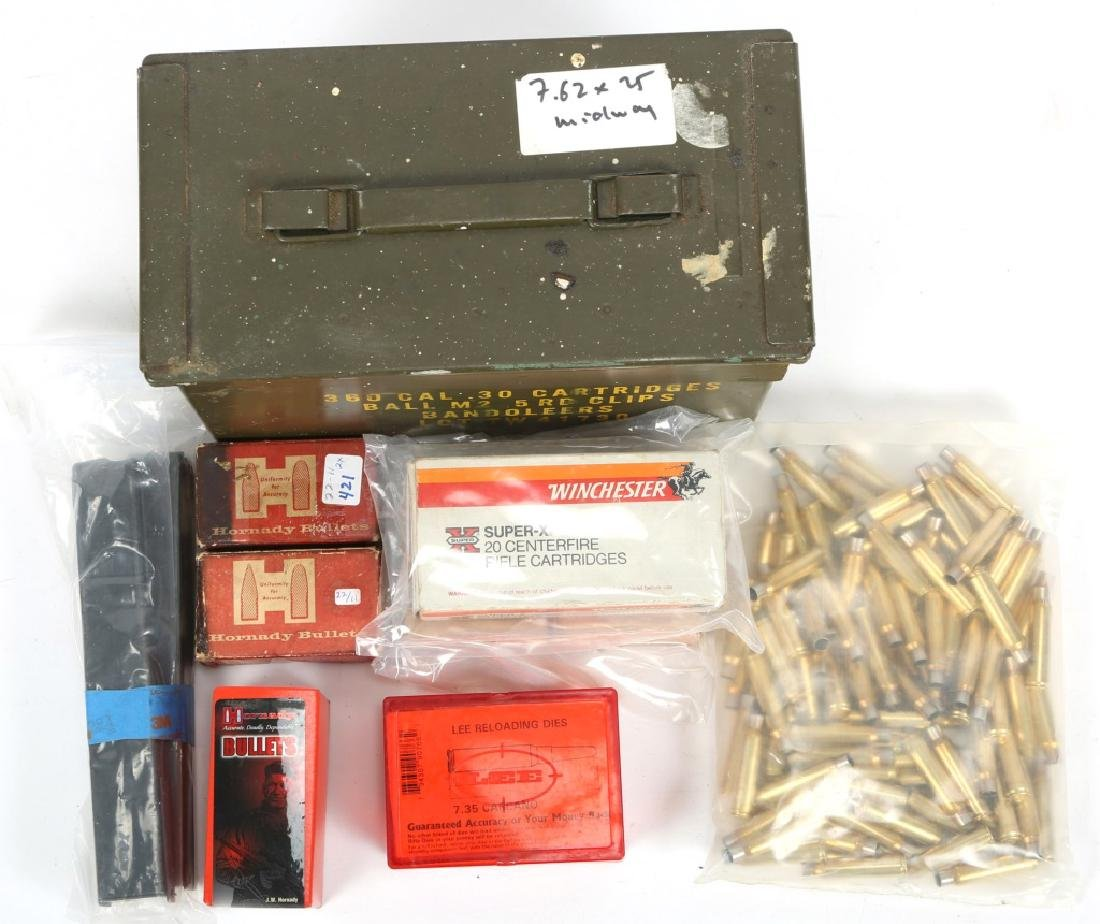 AMMO CAN 7.35 x 51mm RELOADING ITEMS